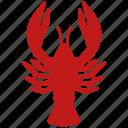 cancer, lobster, omar, seafood, sea food