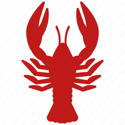 cancer, lobster, omar, sea food, seafood icon