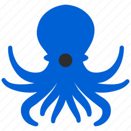 cephalopod, devilfish, octopus, restaurant, sea food, seafood icon