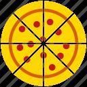 italian fastfood, pizza, cake, fast food, snack