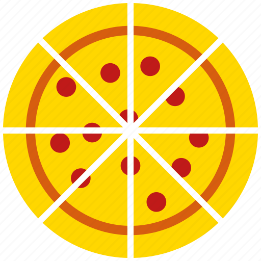 cake, fast food, italian fastfood, pizza, snack icon