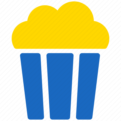 cinema, corn, entertainment, maize, pop corn, popcorn icon