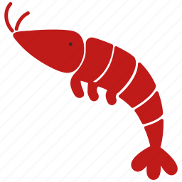 prawn, seafood, shrimp icon