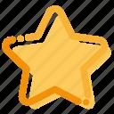 favorite, interface, rating, star