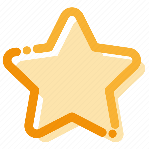 favorite, interface, rating, star icon