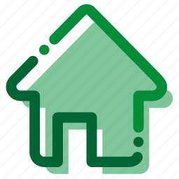 home, house, interface icon