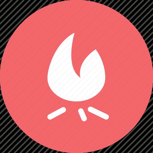 brightness, fire, hot, popular icon