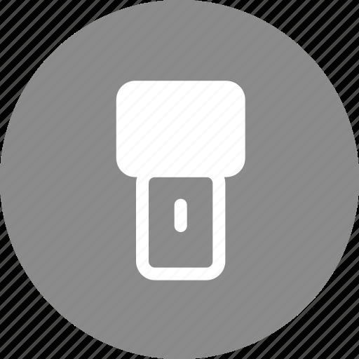 flashlight, guide, light, lightbulb icon