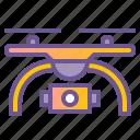 camera, drone, live icon