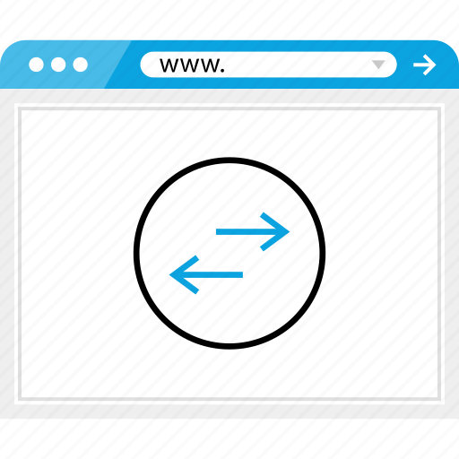 arrow, browser, left, online, right icon