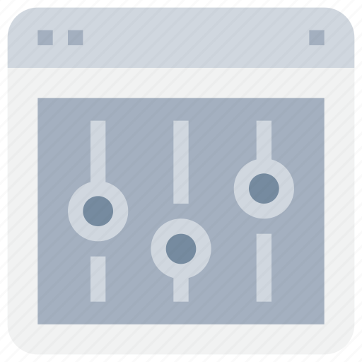 Browser, control, interface, management, option, web icon - Download on Iconfinder
