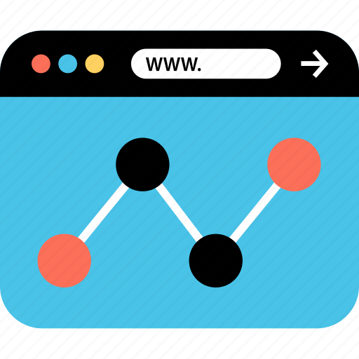 analytics, internet, online, seo, web, webbrowser, www icon