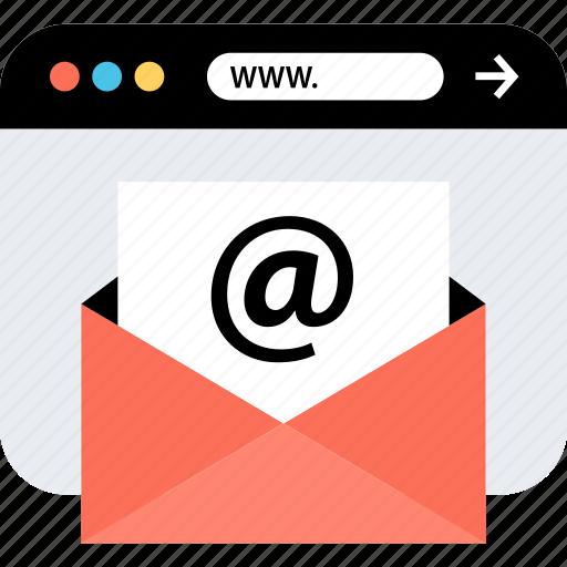 email, internet, online, seo, web, webbrowser, www icon