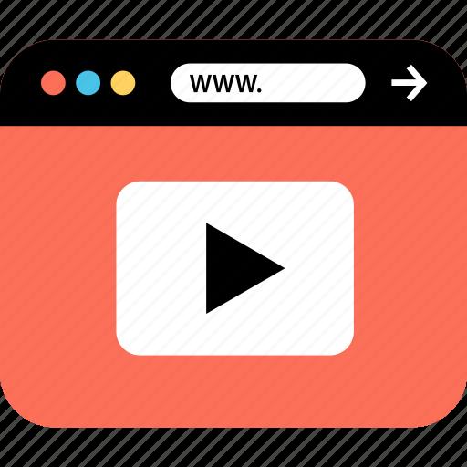 internet, online, play, seo, web, webbrowser, www icon