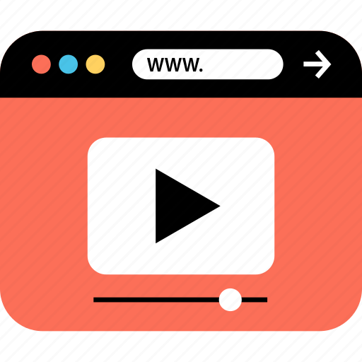 internet, online, playvideo, seo, web, webbrowser, www icon