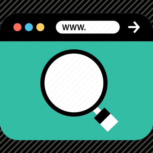 internet, online, search, seo, web, webbrowser, www icon