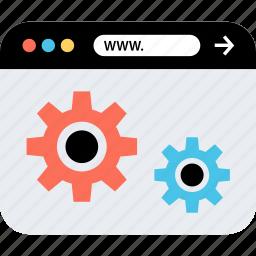 internet, online, seo, settings, web, webbrowser, www icon