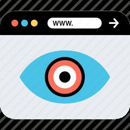 internet, online, seo, views, web, webbrowser, www icon