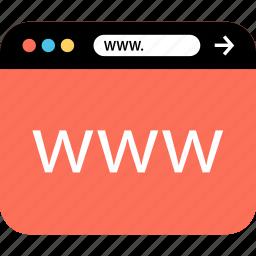 internet, online, seo, web, webbrowser, worldwideweb, www icon
