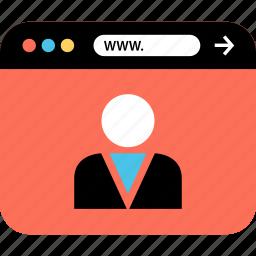internet, online, seo, web, webbrowser, www, youtuber icon