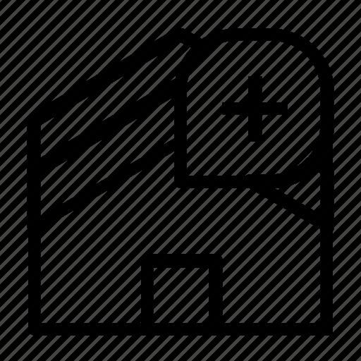 add, home icon
