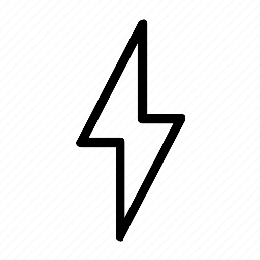 bolt, electric, electricity icon