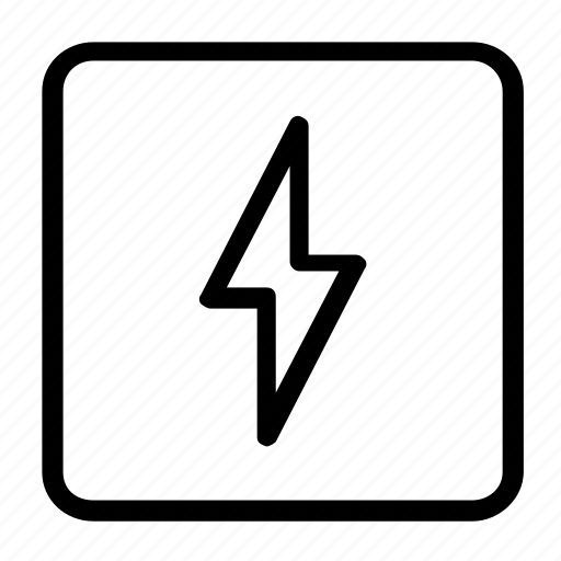 Bolt, electric, electricity, charge, energy, light, power icon - Download on Iconfinder