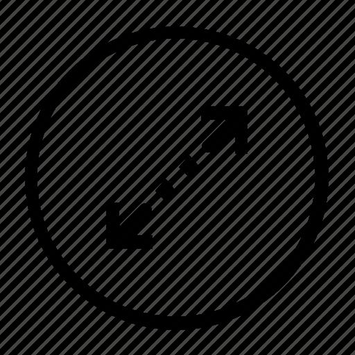 expand, resoze icon