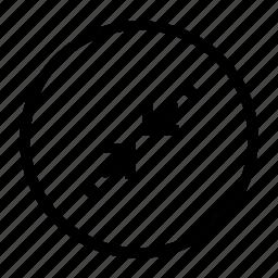 minimize, resize icon