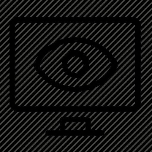 computer, view icon