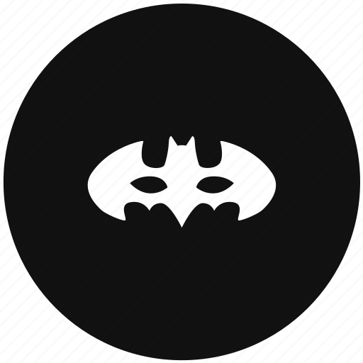 bat, batman, hero, mask icon
