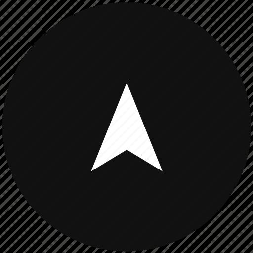 cursor, navigator, pointer, way icon