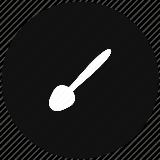 eat, instrument, spoon icon