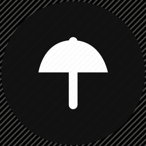guard, rain, safety, umbrella icon