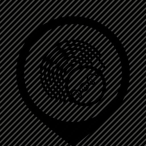 access, biometry, chain, data, dna icon