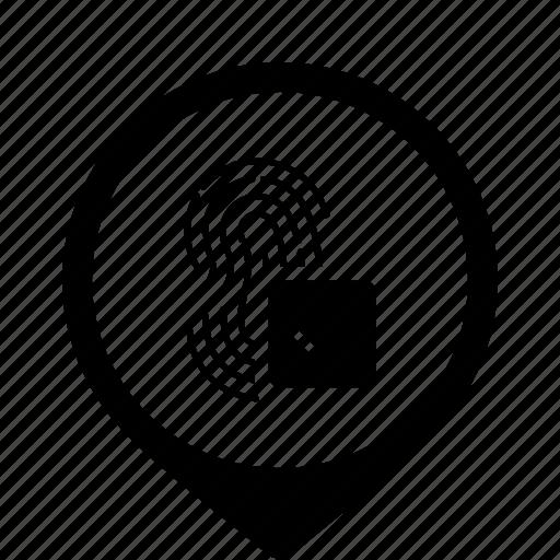 access, bio, biometry, dactyl, finger, ok icon