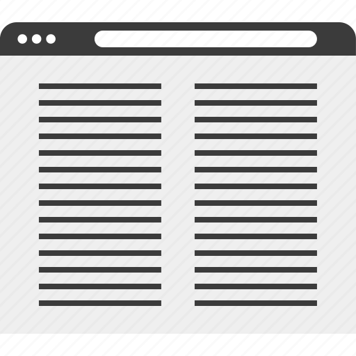 layout, onilne, page, web, wireframe icon