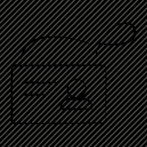 id, profile, user, visitor icon