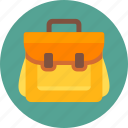 backpack, bag, camping, education, school, school bag, travel bag icon