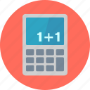 calculate, calculator, education, learning, math, mathematics, school, study icon