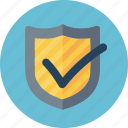 antivirus, brand protection, secure, shield icon
