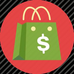 affiliate marketing, marketing, seo, shopping bag icon