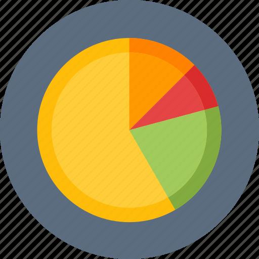 analysis, analytics, pie chart, statistics icon