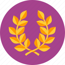 achievement, award, best, laurel wreath, quality, reputation management, seo, victory, win icon