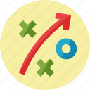business, goals, search engine optimization, seo strategy icon