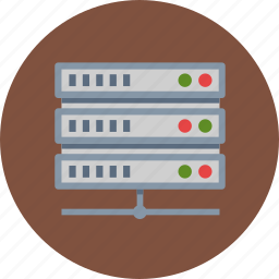 hosting, internet, web hosting, web server icon