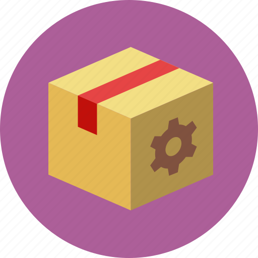 box, gear, internet, package, search engine, seo, seo packages, services icon