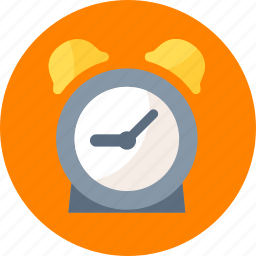 alarm clock, time, time management icon