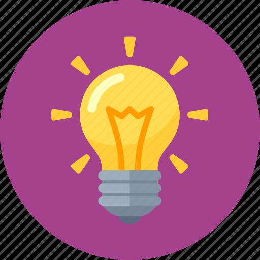 Brainstorming, creativity, idea, light bulb icon | Icon ...