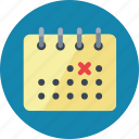 calendar, deadline, schedule icon